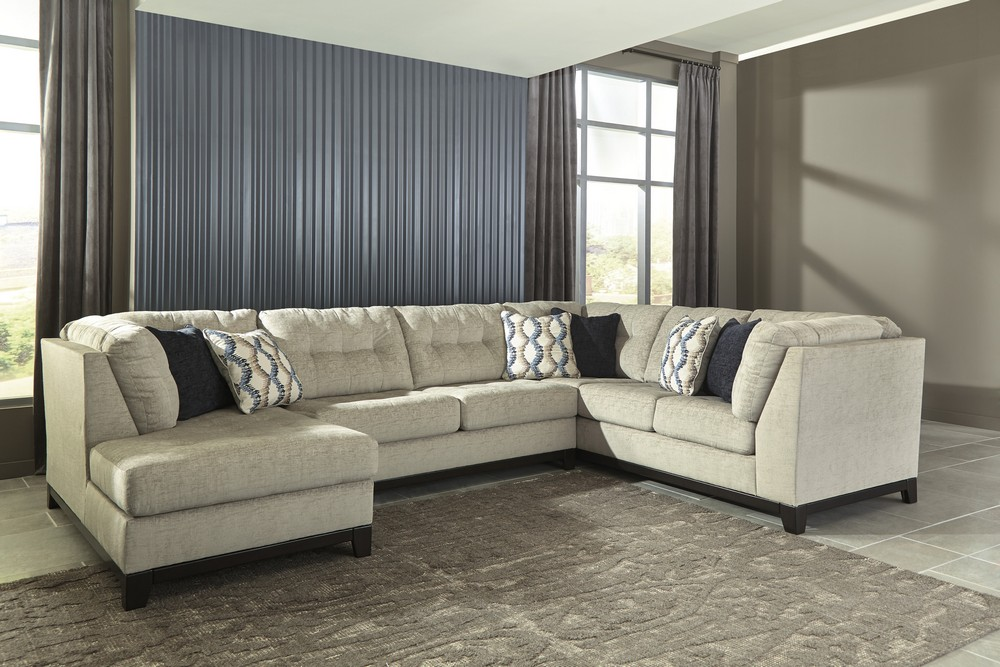 Beckendorf Chalk Sectional Central Rent 2 Own