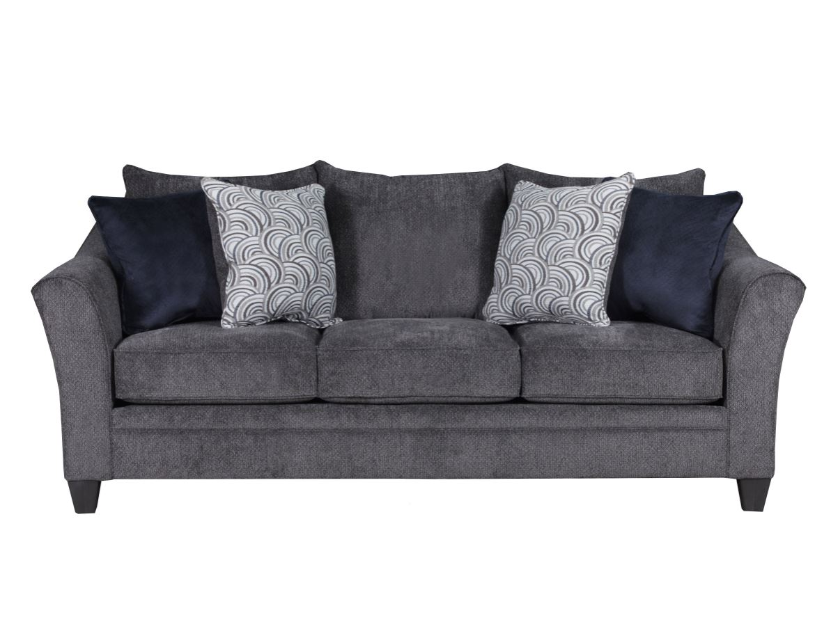 Albany Pewter Silver Sofa