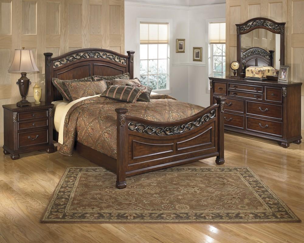 Leahlyn - Brown Queen Bed