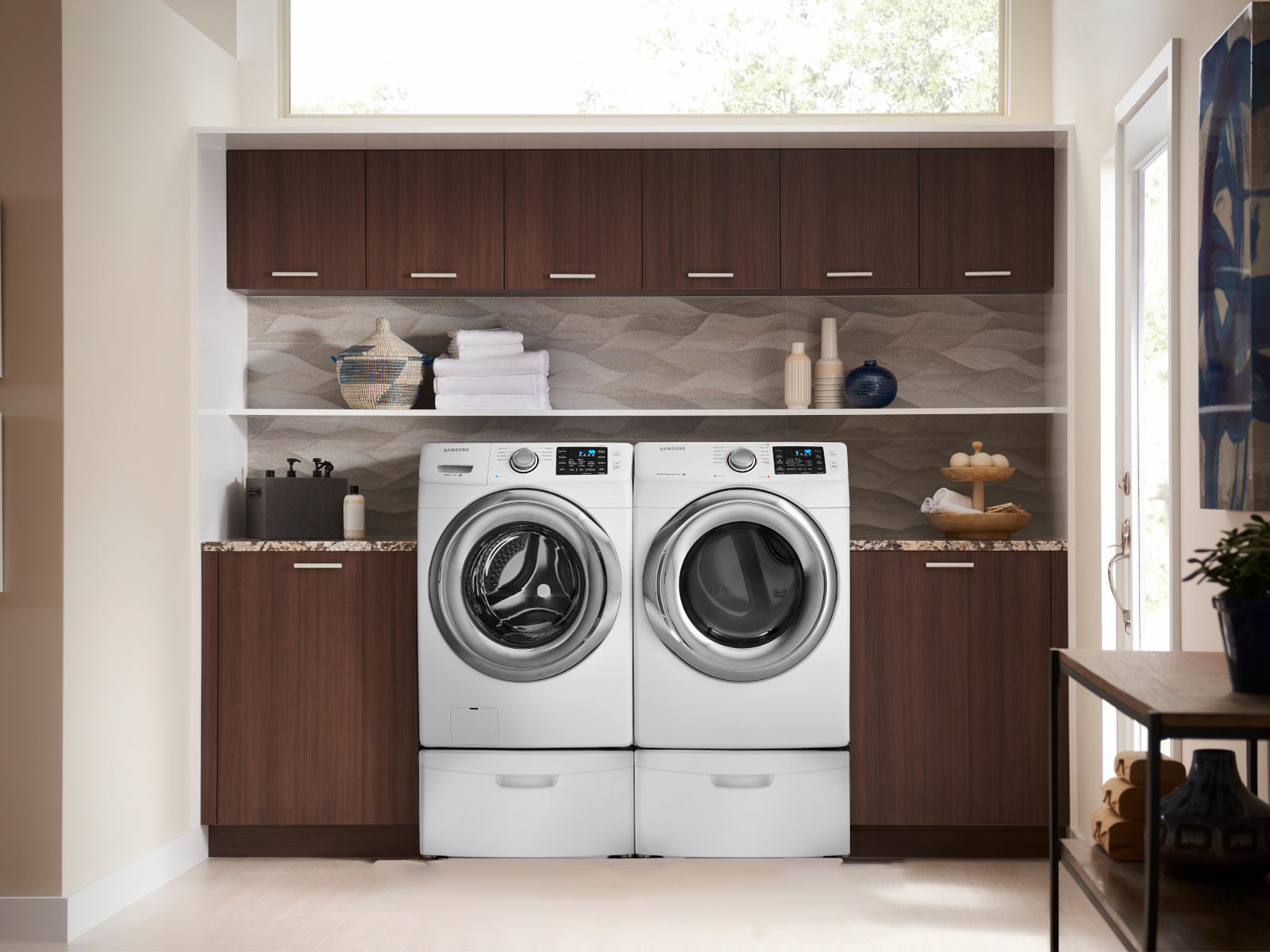 Clearance Samsung Front Load Washer Dryer Pair With